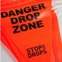Gripps Bunting Safety Flags on Rope HS-E02000